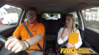 Fake Driving School Georgie Lyall Off Duty Sex Point student
