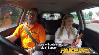 Fake Driving School Georgie Lyall Off Duty Sex Cock tits