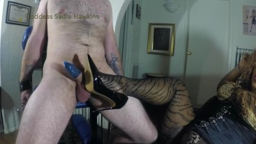 I just want you to feel Me! My ballbusting are just love taps...