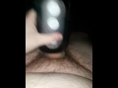Chubby Teen Uses Tenga Flip Hole Again