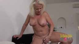 Naughty Mature Whore Cums On A Huge Cock And Loves It