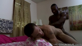 IconMale Hunk Black Dick Fucks His Sister's Straight Boyfriend Skinny ebony