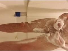 hot cumshot im the shower