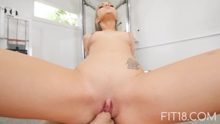 Fit18 - Athena Faris - 50kg - Flexible Teen Gets Creampied Teen young