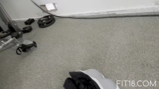 Fit18 - Athena Faris - 50kg - Flexible Teen Gets Creampied Filthy talking