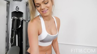 Fit18 - Athena Faris - 50kg - Flexible Teen Gets Creampied Alina hd