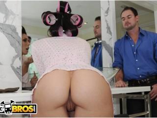 BANGBROS - Hot Pornstar In Hair Curlers Getting Banged