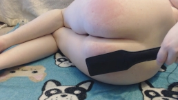 *Requested* Spanking Myself 200 Times (100 spanks to each cheek!)