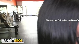 Her bangbros ass pounded body becca gets diamond latin builder milf riding busty