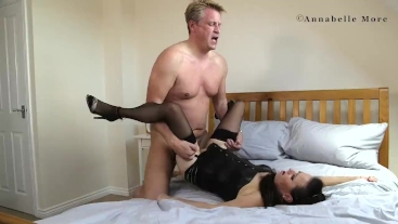 Annabelle More and Marc Kaye having some naughty fun