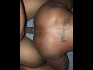 Busty boobs aunty make that thing talk, riding dick deep fuck ass jiggle