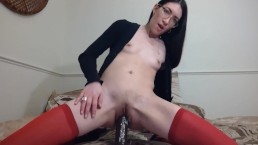 Tiny Asian Teen Fucks Huge BBC Dildo Liz Lovejoy - lizlovejoy.manyvids.com