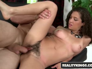 Sexy Real Vedio Reality Kings - Amateur Teen Annika Eve Shows Off Her Natural Bush,