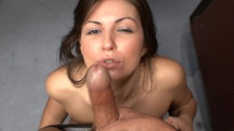 Cute Teen Bosses BF Around Then Makes Him Fuck Her In Kitchen