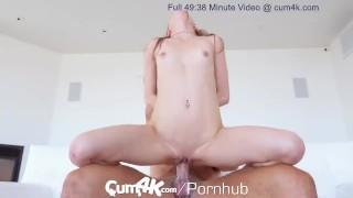 CUM4K Multiple DRIPPING CREAMPIE pounding Girl amateur