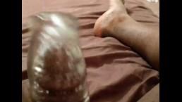 Black Chub First Time with Fleshlight