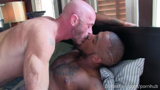 Black Stud Micah Martinez Flip Fucks Raw With Nick Wood