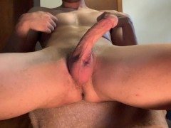 Big Cock Teen Jockstrap play and cum after gym class