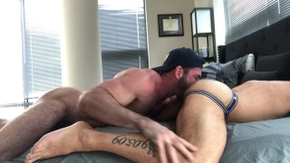 DC Daddy Cumdump takes Billy Santoro's Anon Loads porno