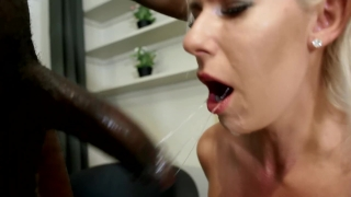 My First Interracial BBC Sex Kate Truu Deeptroat & Fuck by Huge Black Cock Cowgirl fun