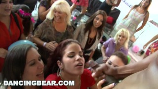 DANCING BEAR - This Bachelorette Loft Party Is Off The Muthafuckin' Chain! Missionary bbc