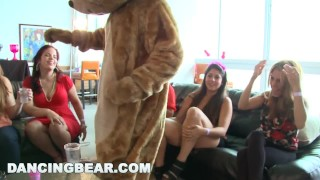 DANCING BEAR - This Bachelorette Loft Party Is Off The Muthafuckin' Chain! Amateur missionary