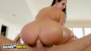 BANGBROS - Thicc MILF Angela White Gets A Massage And Cheat On Her Husband Of eating