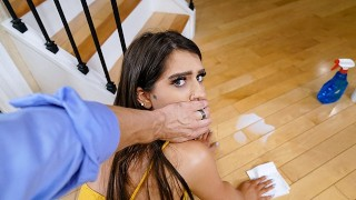 DadCrush - Stepdaughter Caught Twerking By Stepdad