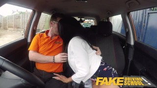 Driving for busty covered british spunk alice babe fake school judge pussy big hard