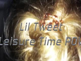 Xxx Gairl Video High Lil Tweet Is Getting Blown By His Tweaker Fan In The