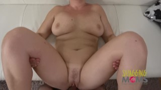Thick milf loves on getting the sofa pounded old masturbation