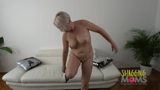 Thick MILF Loves Getting Pounded On The Sofa Pov she