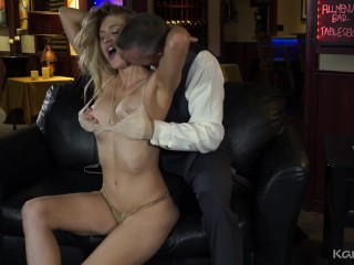 anna kelly busty blonde milf blindfolded then fucked