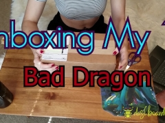 Unboxing My 1st Bad Dragon! Nox  Lil' Squirt Cockatrice & Cum Lube