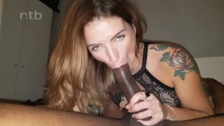 Fucked and impregnated by biggest black cock she has ever seen