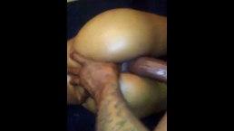 Daddy long stroking this tight wet pussy