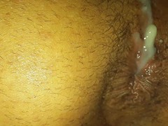 Fucked raw and then dripping with cum at the end