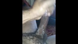Big Dick Jacking With Cum Shot