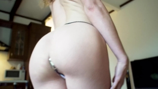 Freutoy bandini mouth panty ass thanks anal with plug mia to butt creampie