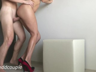Sexy Spouse With Erotic Legs In Prime Heels Like To Banged