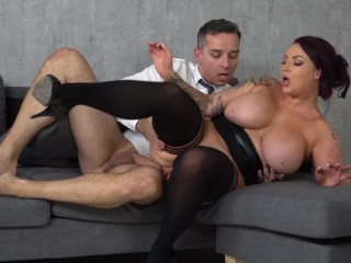 Shy First Time Nudist Videos Fucking, Voluptuous boss Harmony Reigns cant get enough of employes big
