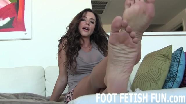 Latina Milf Foot Worship