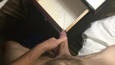 Naughty Hotel wake up to pee