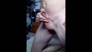 On My Knees Jacking Off