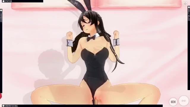 Anime Bunny Girl Porn - Sakurajima Mai Custom Maid 3D 2 Rascal does not Dream of ...