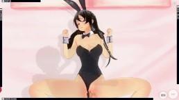 Sakurajima Mai Custom maid 3D 2 Rascal does not dream of bunny girl senpai