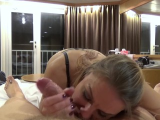 Blowjobs r us sucking daddys fat cock till he loudly explodes in my mouth (version 2.0), butt point of view fat cock sugar daddy