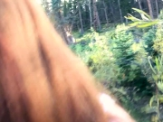 Almost Caught While Masturbating On Public Trail + BHS | freckledRED