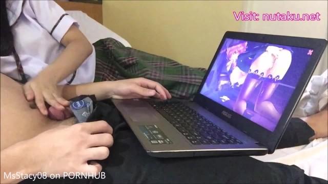 Plaay horny gamers sex games online 18yo pinay student gets creampied by her nutaku gamer classmate