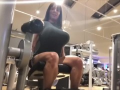 Deadly leg extension. You want to die? Take a seat in my quads